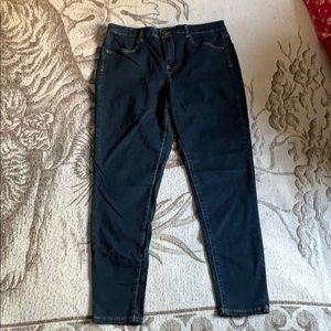Pants - Navy blue Jegging